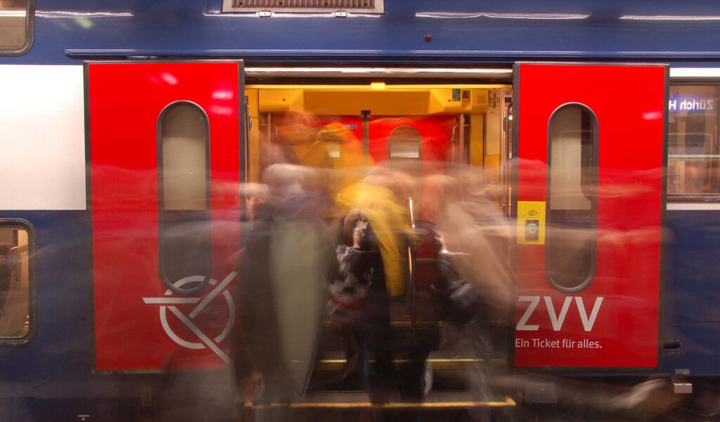 train in Zurich