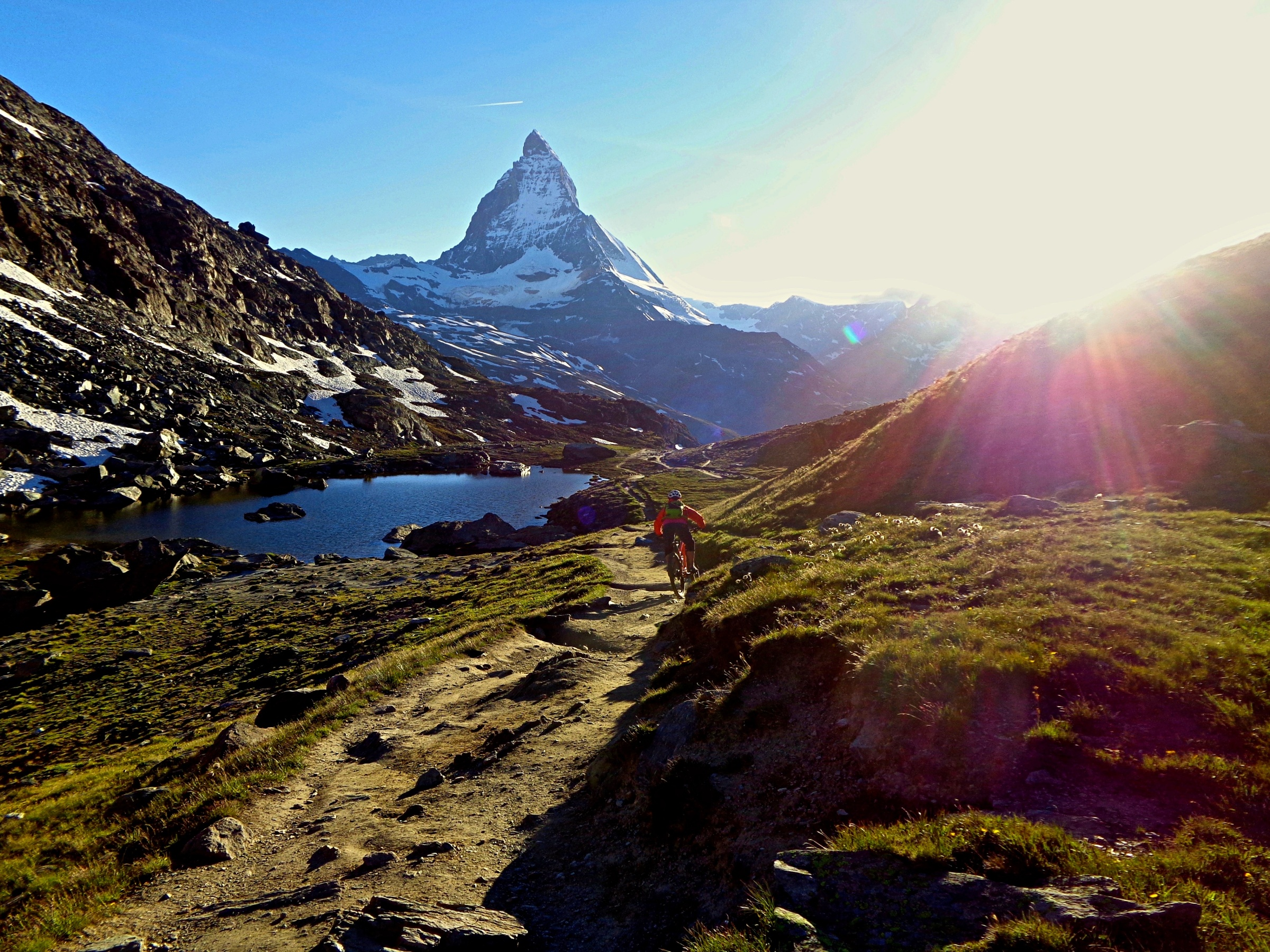 The Matterhorn is Switzerland's most famous mountain and the main reason why people come to Zermatt.