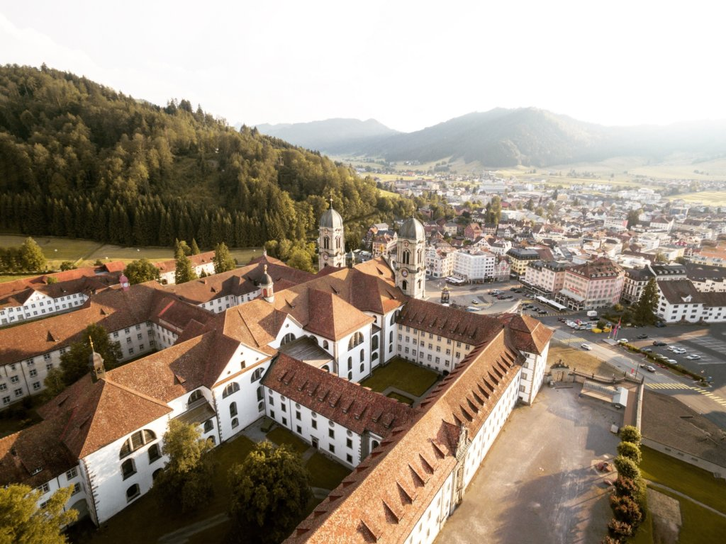 The Abbey in Einsiedeln dates back to 934 and is well worth a visit.