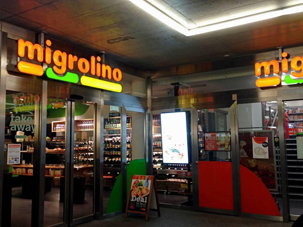 Migrolino supermarket