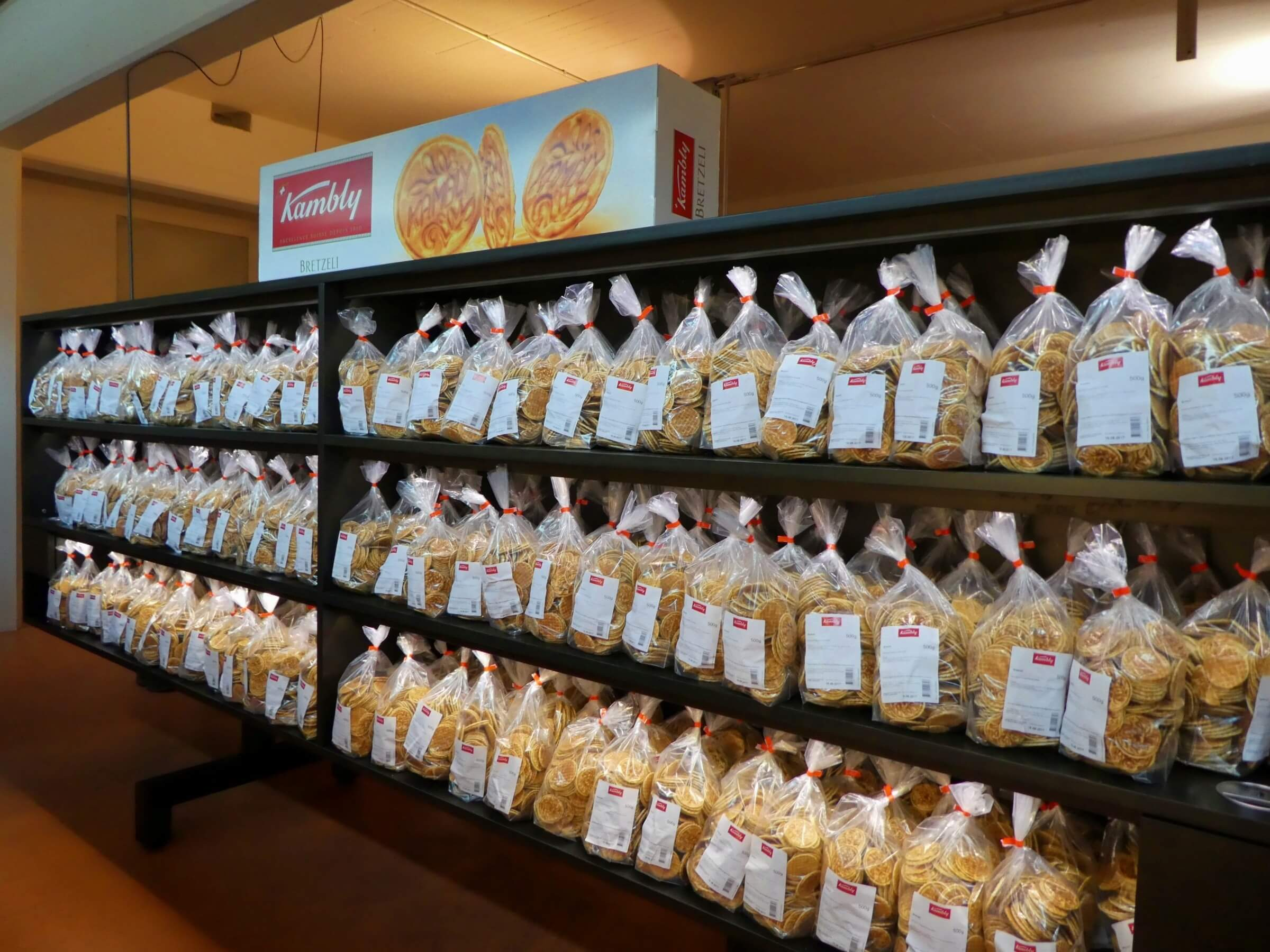 The Bretzeli has been Kambly's market leader for over a century.