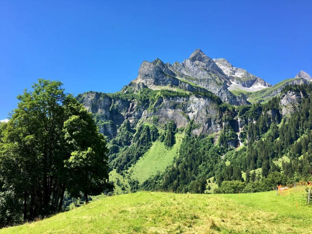 The Canton of Glarus also has some mighty mountains up its sleeves.