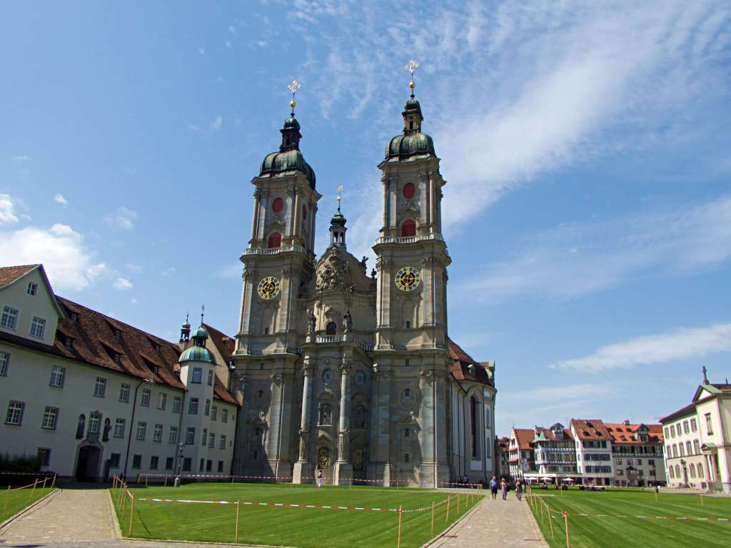 The cathedral in St. Gallen is probably the most photographed building in the city.