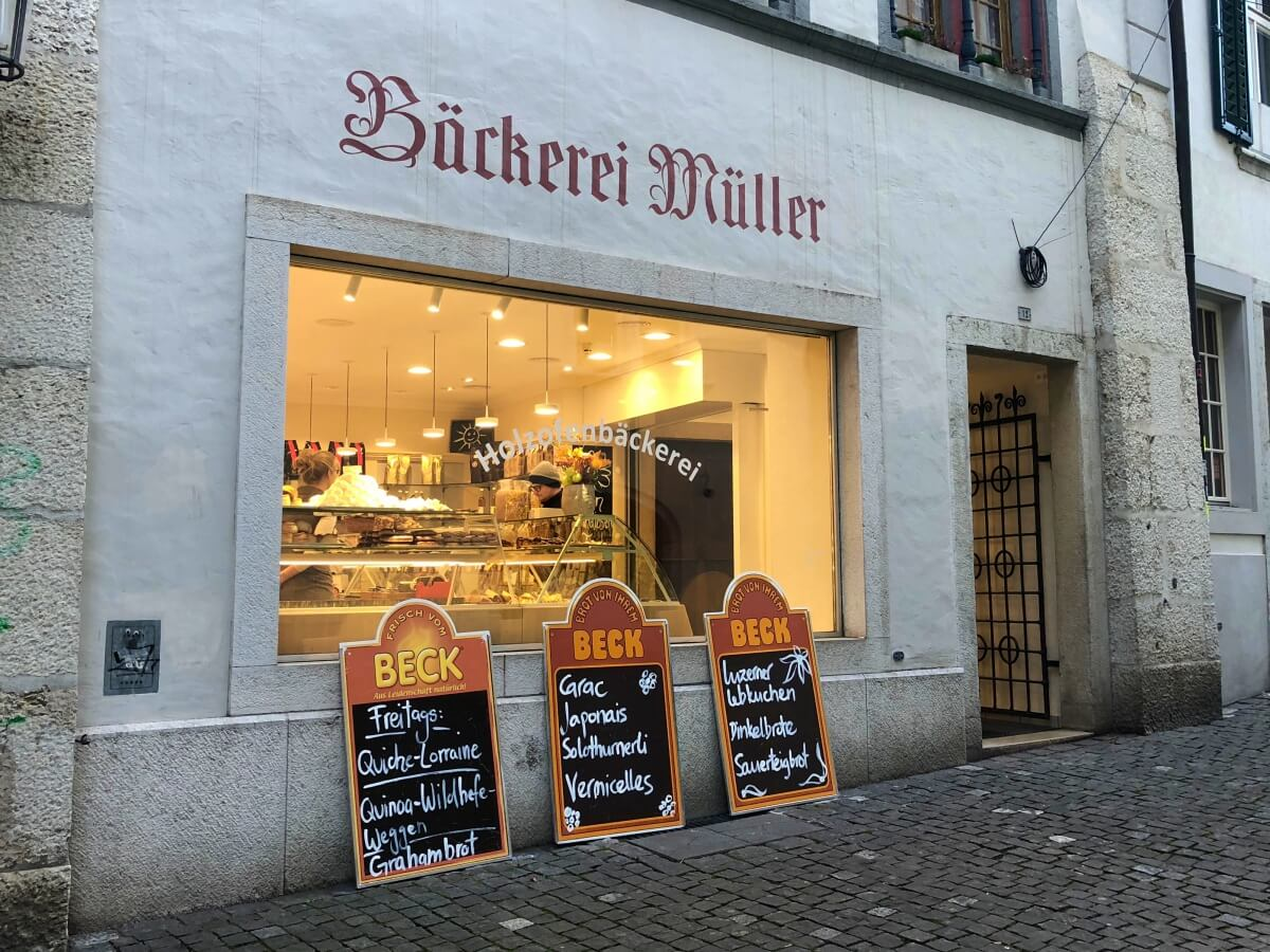 woodstove bakery Müller