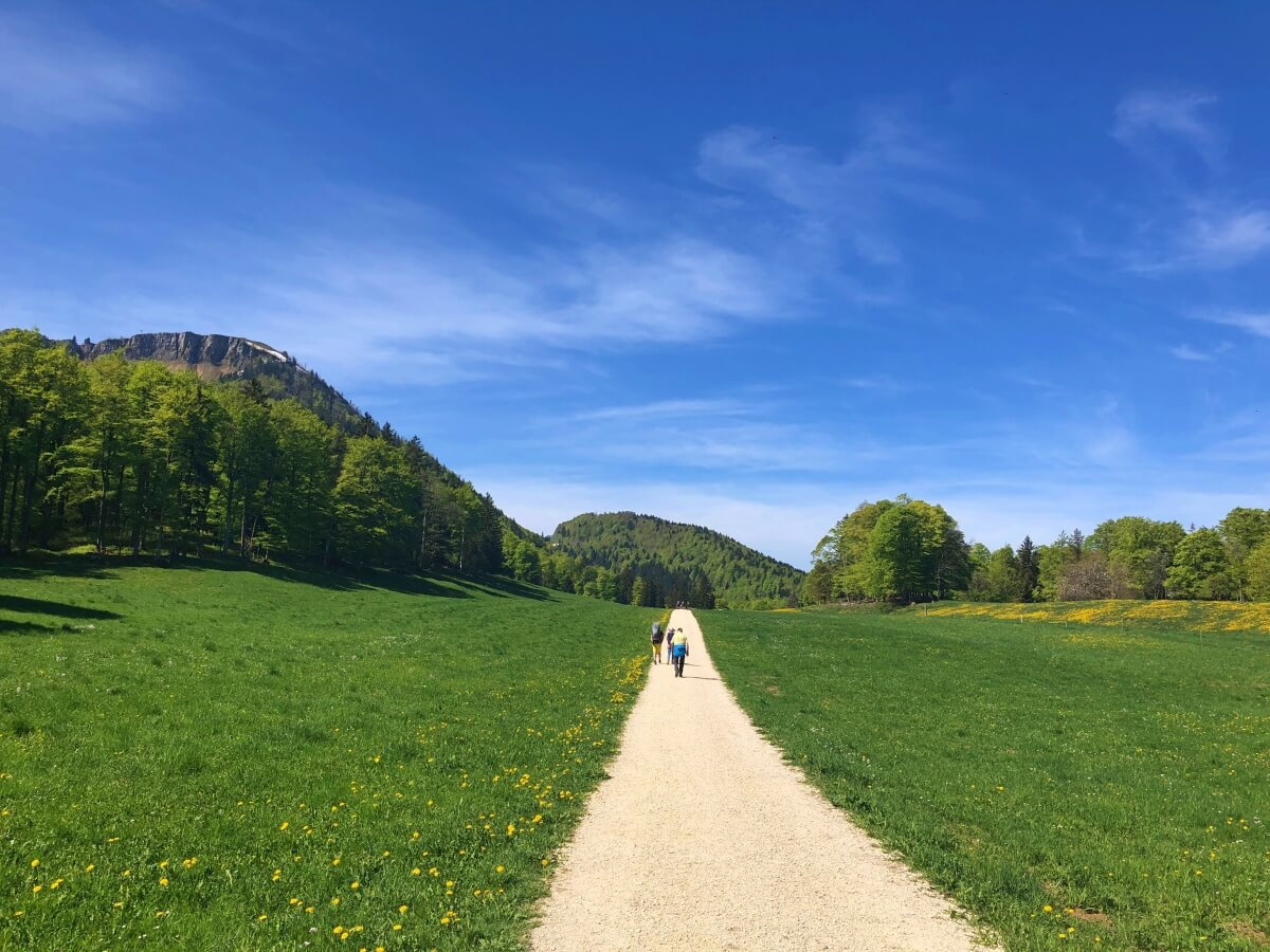 Hiking in the Jura