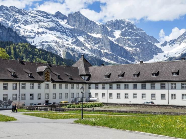 Monastery in Engelberg