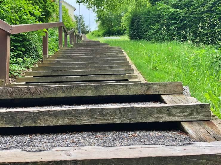 Stairs in St. Gallen
