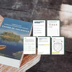 Cahier de vacances La Classe Verte RSE communication