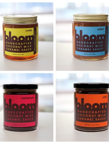 Bloom vegan caramel sauce