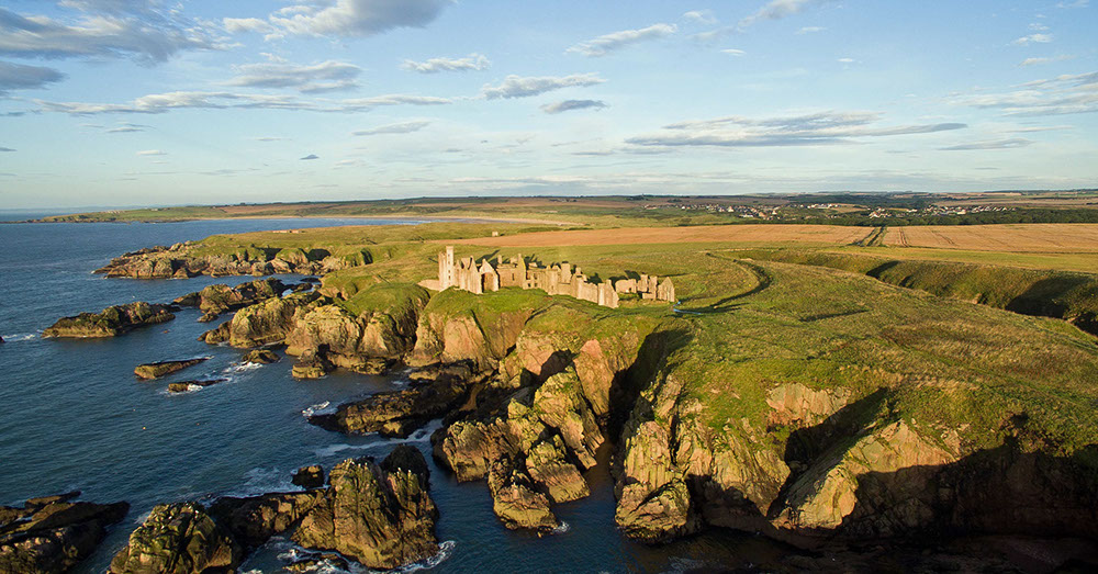 slains castle scotland