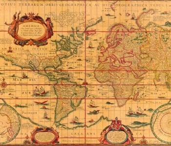 world map coffee history