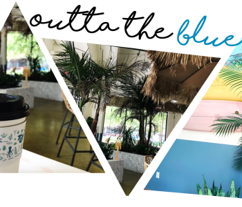 outta the blue made in Kansas City coffee coffeeshop cafe