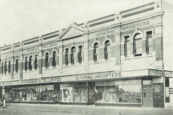 lost katanning business 1929 Richardson-Piesse building