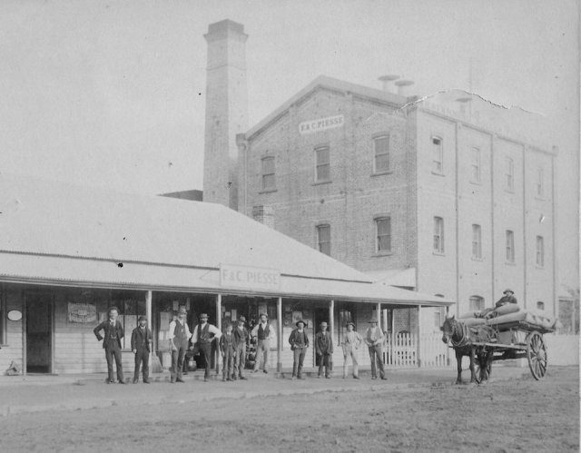 lost katanning f & c piesse flour mill and store