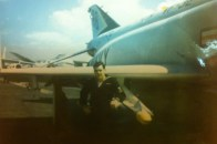 Rick was on the aircraft carrier USS JFK