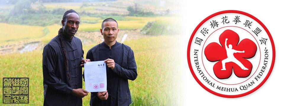 Shifu Le Grand appointed Ambassador of IMHQF Intl Meihua Quan Federation