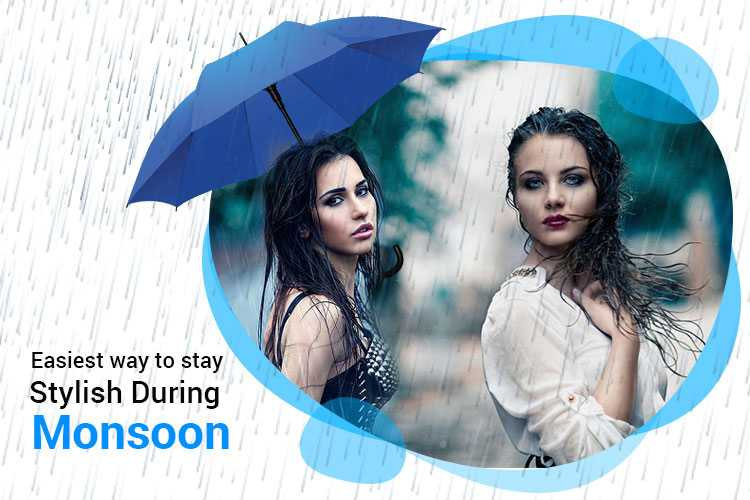 The Easiest Way to Stay Stylish During Monsoon