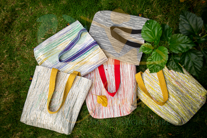 Upcycle Handwoven Products From ReCharkha – The Ecosocial Tribe