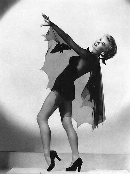vintage halloween bat costume