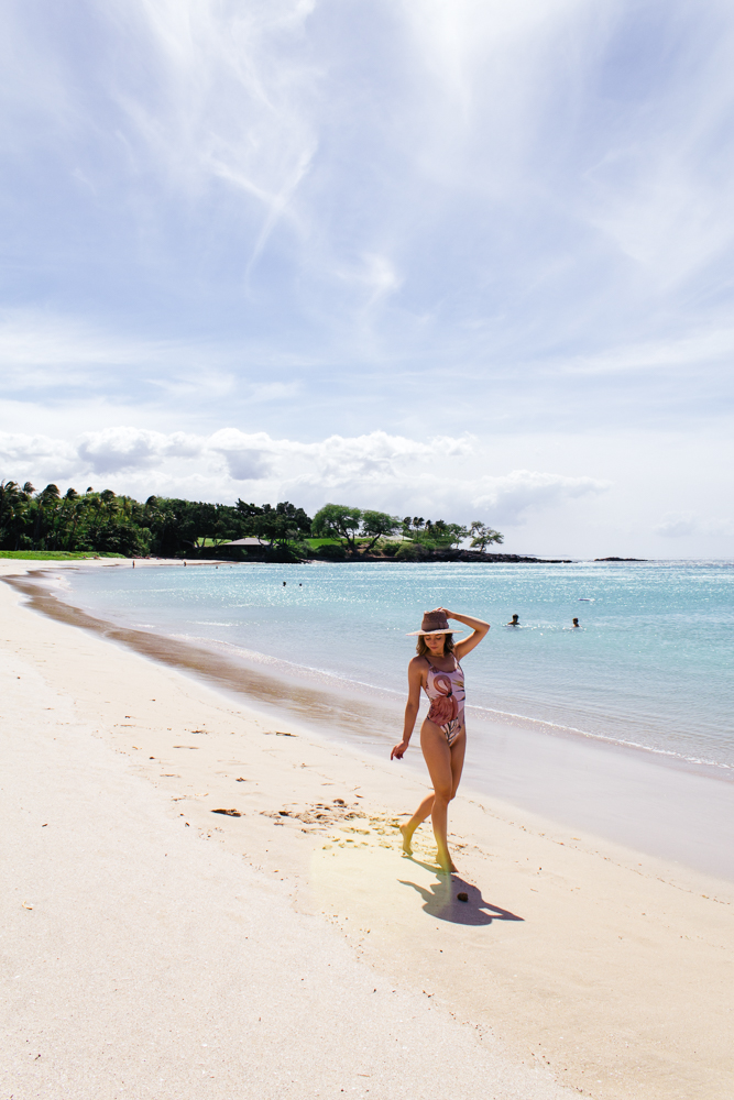Hapuna Beach Hawaii Caitlin Sauer Lost Luxe
