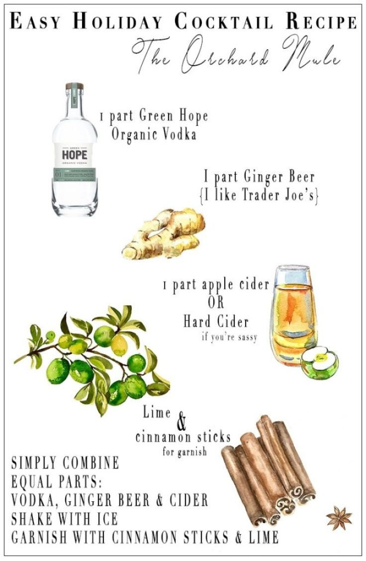 Simple Holiday Cocktail Recipe