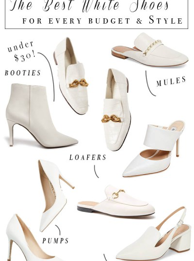 Luxe Loves : White Shoes