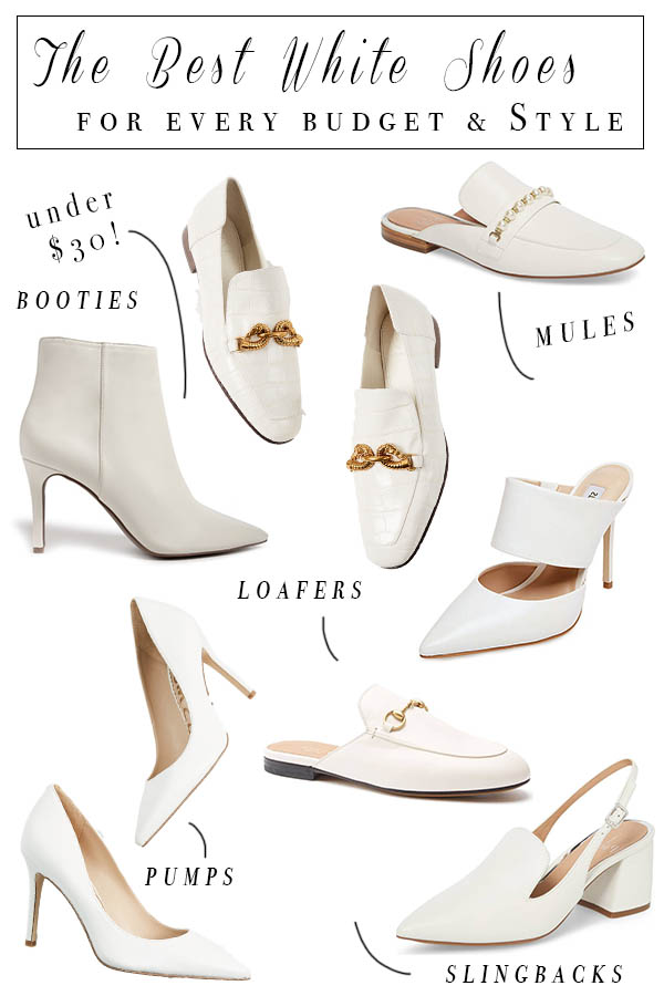 White Shoes for Every Style and Budget