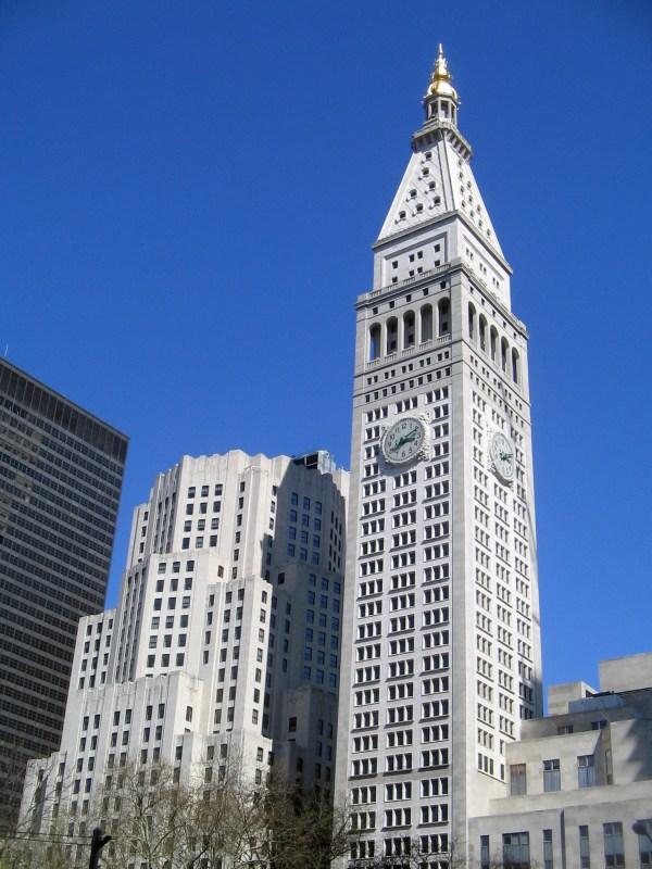 Owns 23 Wall Street Manhattan Clock Tower