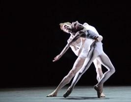 Olivia Cowley and Edward Watson rehearsing Qualia 5