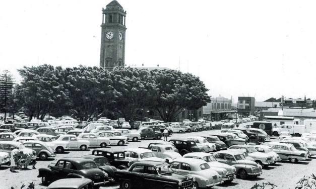 Civic Park Carpark 1950s