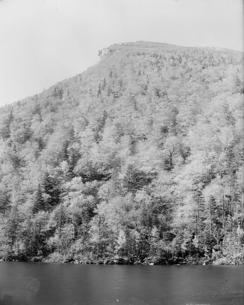 For years, he was one of new england's best scenic wonders. Old Man Of The Mountain Franconia New Hampshire Lost New England