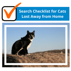 Search Checklist for Cats Lost Away from Home
