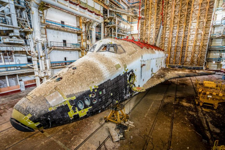 infront the buran – picture