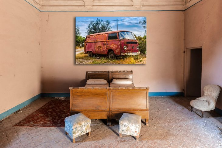 my old red rusty girl – wall