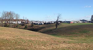 View of the Visone RV Boneyard from the road