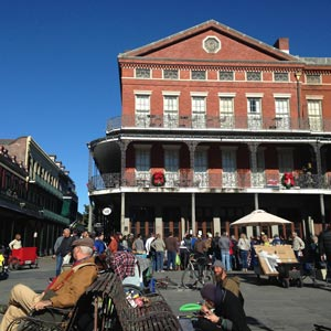 Image of Buildings around Jackson Square