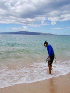 underwater recovery Maui Hawaii