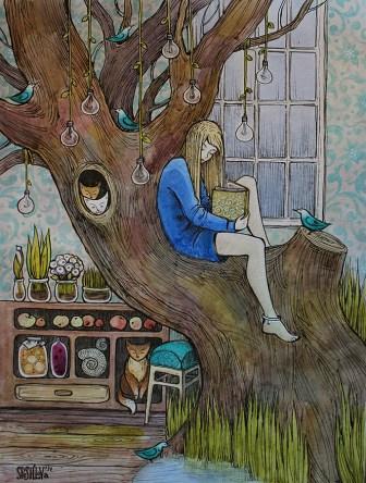 her-room-by Anna Speshilova