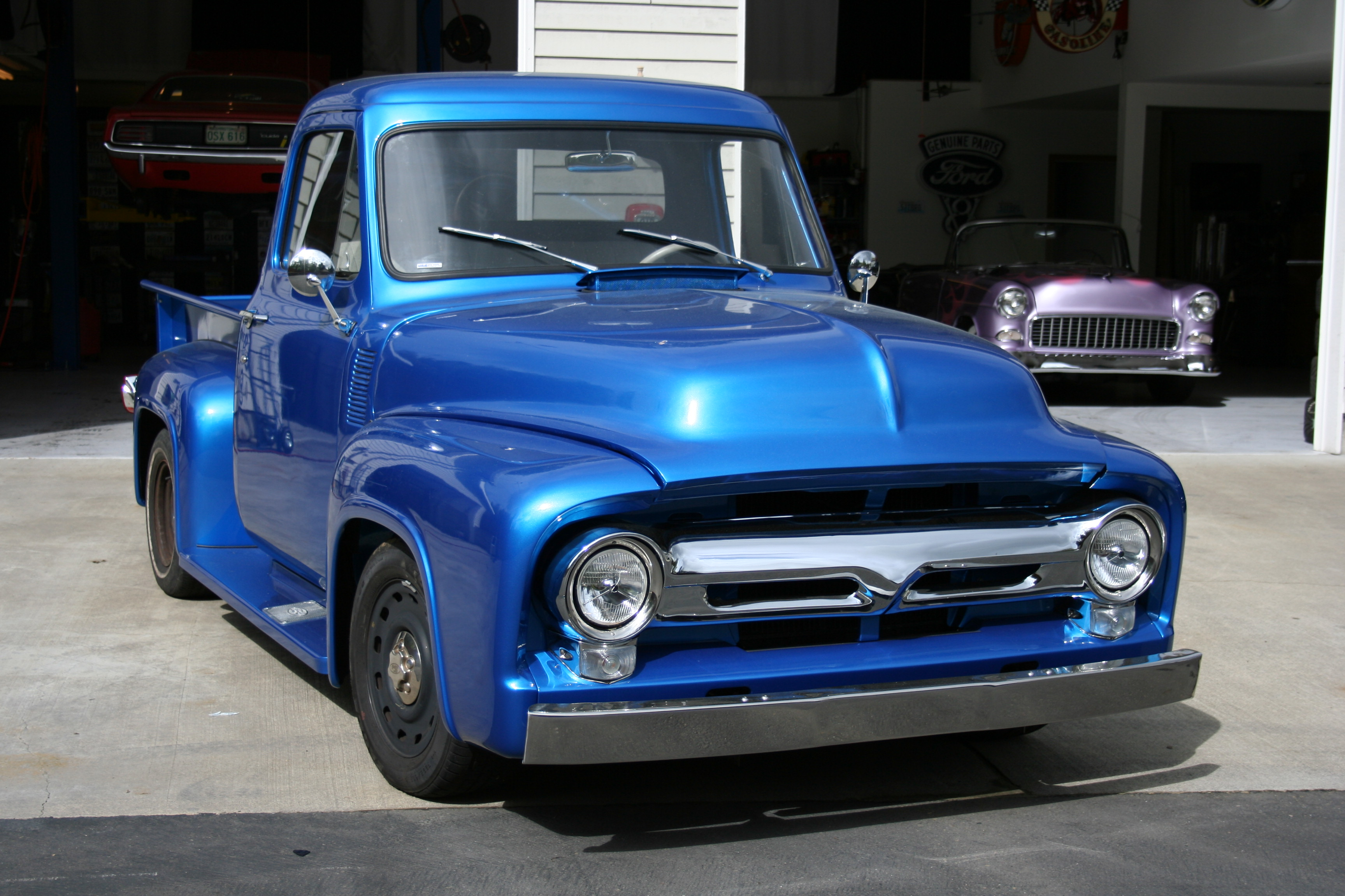 1951 Chevy Pickup Truck On Alternator Wiring For 1969 Mercury Cougar