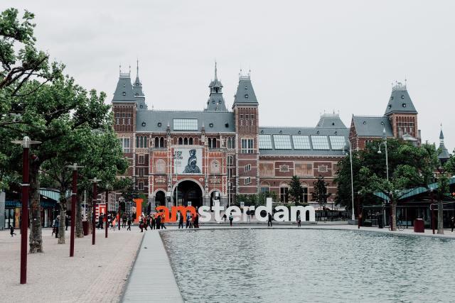 I Amsterdam in Meseumplatz