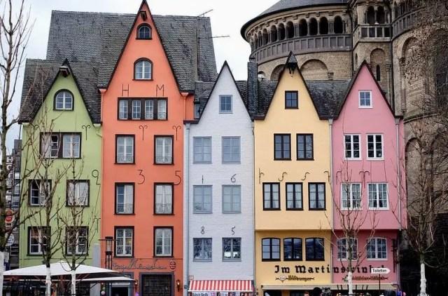 Il Fischmarkt di Colonia si trova nella zona antica della città, l'Alter Markt