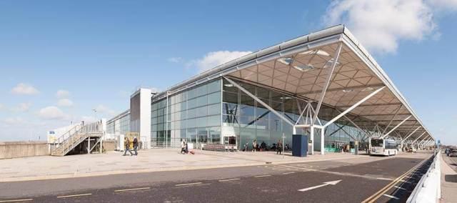 Strada per arrivare da Stansted Airport