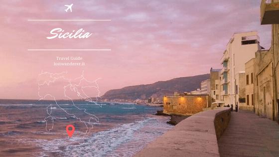 Copertina post sulle spiagge più belle del trapanese