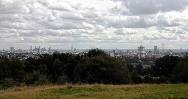 Parliament Hill la collina della Brughiera di Hampstead dove poter vedere Londra dall'alto gratis