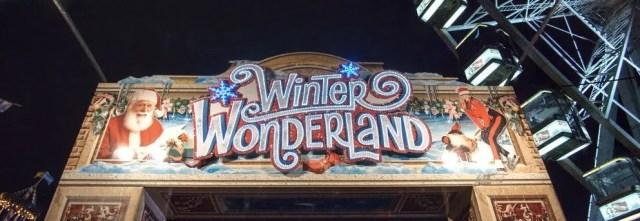 Entrata del Winter Wonderland a Londra