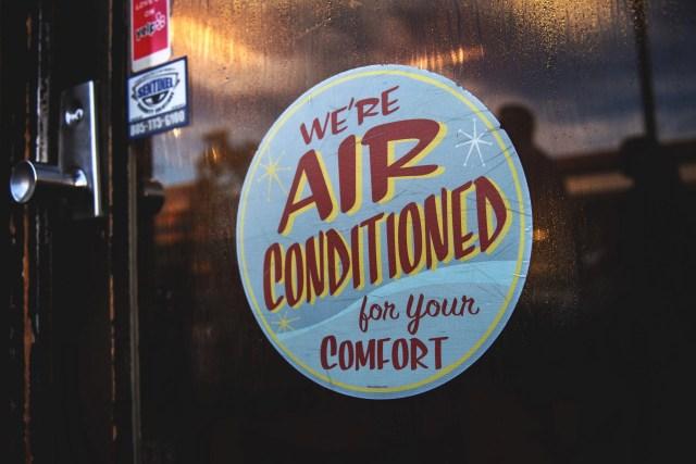 sopravvivere al caldo: l'aria condizionata