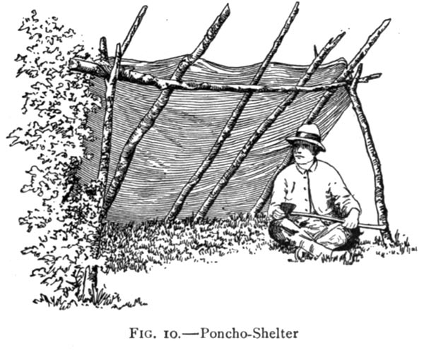 Poncho shelter