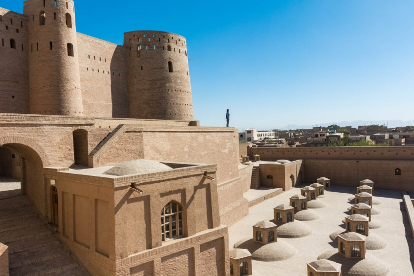 The recently restored Herat Citadel - Lost With Purpose