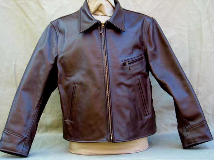 Ryder Horsehide Jacket 1930s Lost Worlds