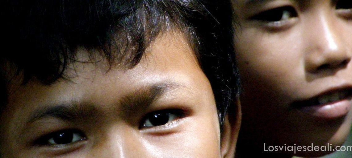 niños de camboya